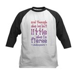 And though she be but little she is fierce Baseball Jersey