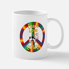 Peace Love Cows Mug