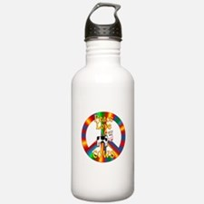 Peace Love Cows Water Bottle