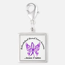 GIST Butterfly 6.1 Silver Square Charm