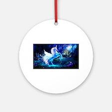 Unicorn Ornament (Round)