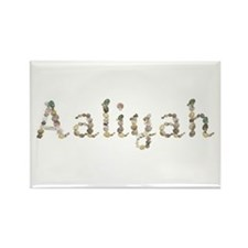 Aaliyah Seashells Rectangle Magnet