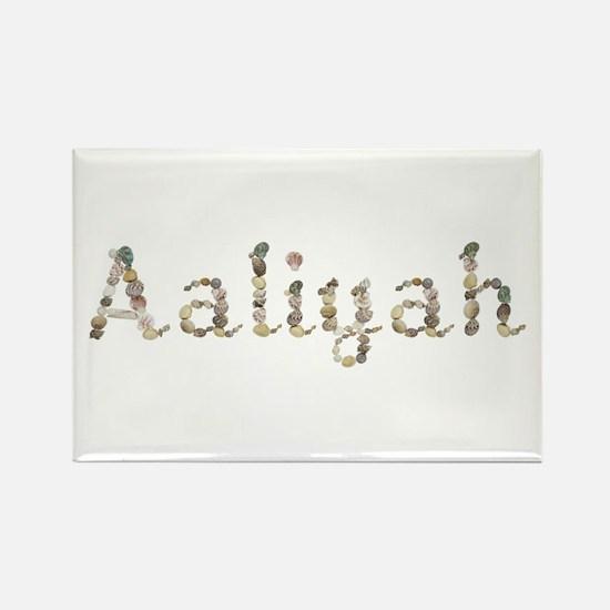 Aaliyah Seashells Rectangle Magnet