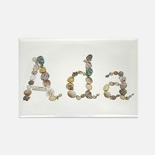 Ada Seashells Rectangle Magnet