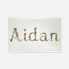 Aidan Seashells Rectangle Magnet