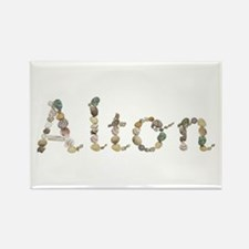 Alton Seashells Rectangle Magnet