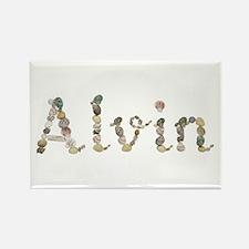 Alvin Seashells Rectangle Magnet