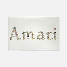 Amari Seashells Rectangle Magnet