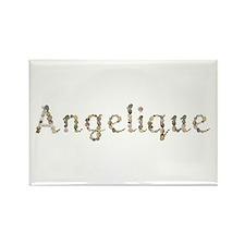 Angelique Seashells Rectangle Magnet