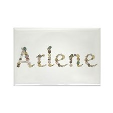 Arlene Seashells Rectangle Magnet
