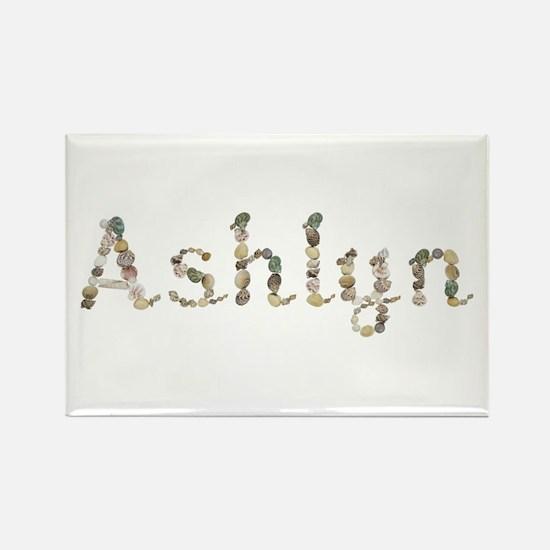 Ashlyn Seashells Rectangle Magnet