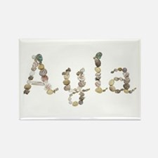 Ayla Seashells Rectangle Magnet