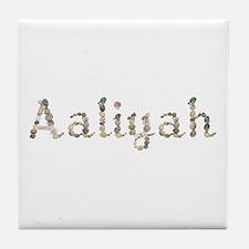 Aaliyah Seashells Tile Coaster