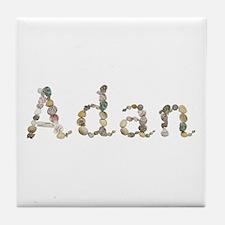 Adan Seashells Tile Coaster