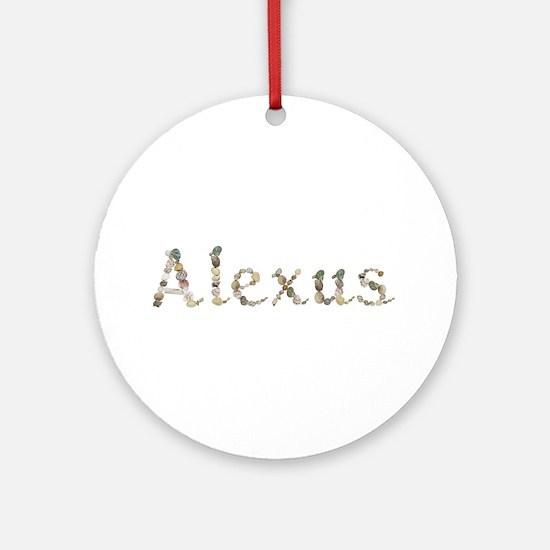 Alexus Seashells Round Ornament