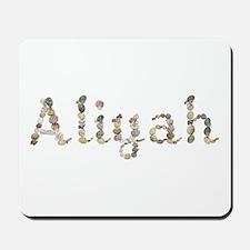 Aliyah Seashells Mousepad
