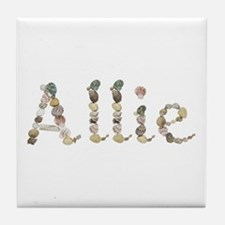 Allie Seashells Tile Coaster
