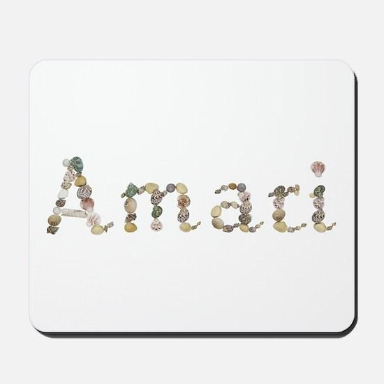 Amari Seashells Mousepad