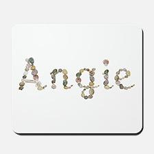 Angie Seashells Mousepad