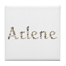 Arlene Seashells Tile Coaster