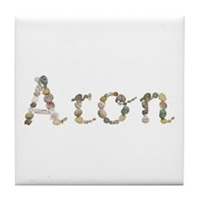 Aron Seashells Tile Coaster