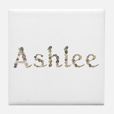 Ashlee Seashells Tile Coaster