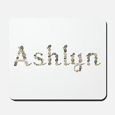 Ashlyn Seashells Mousepad