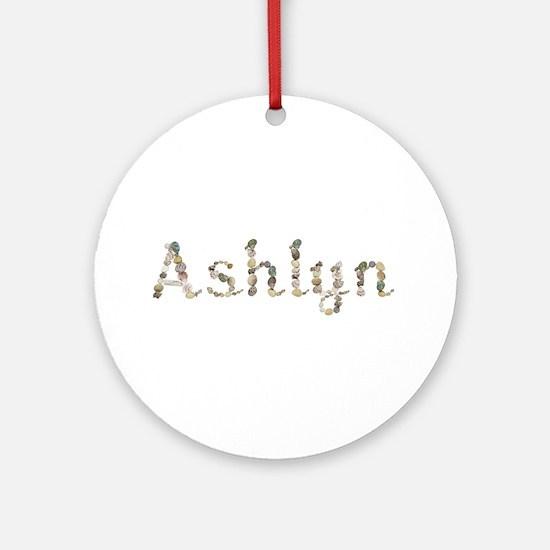 Ashlyn Seashells Round Ornament