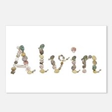 Alvin Seashells Postcards 8 Pack