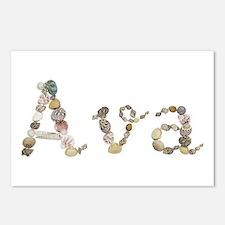 Ava Seashells Postcards 8 Pack