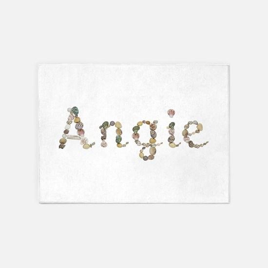 Angie Seashells 5'x7' Area Rug