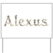 Alexus Seashells Yard Sign