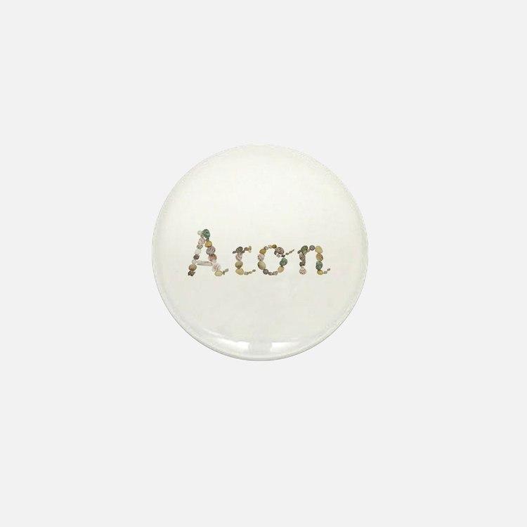 Aron Seashells Mini Button