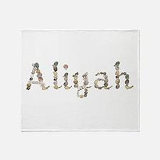 Aliyah Seashells Throw Blanket