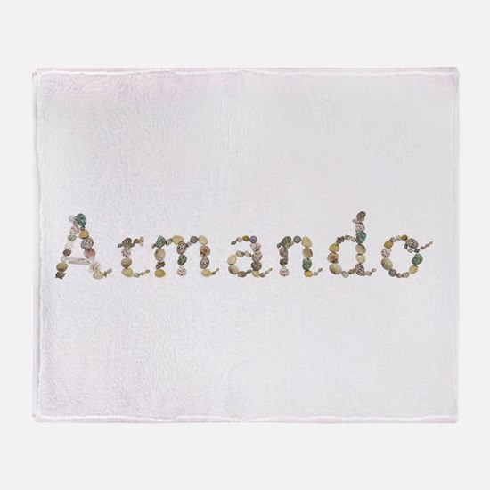 Armando Seashells Throw Blanket