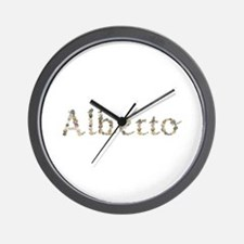 Alberto Seashells Wall Clock