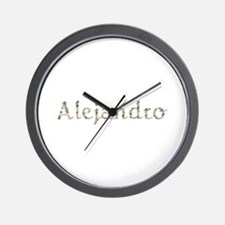 Alejandro Seashells Wall Clock
