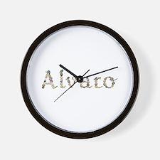 Alvaro Seashells Wall Clock