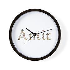Amir Seashells Wall Clock