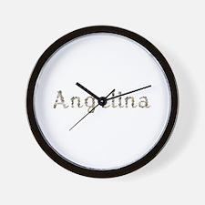 Angelina Seashells Wall Clock