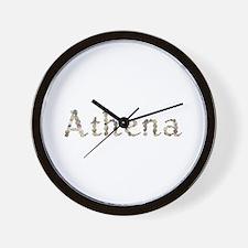 Athena Seashells Wall Clock