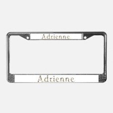 Adrienne Seashells License Plate Frame