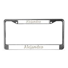 Alejandro Seashells License Plate Frame