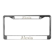 Alexia Seashells License Plate Frame