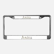 Anita Seashells License Plate Frame