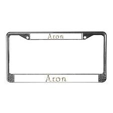 Aron Seashells License Plate Frame