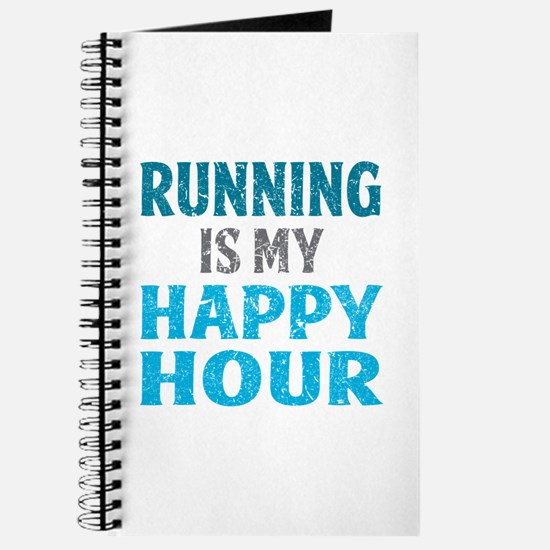 Running Is My Happy Hour Journal