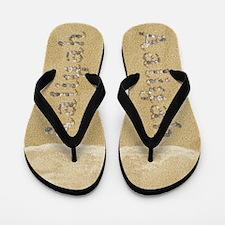 Aaliyah Seashells Flip Flops
