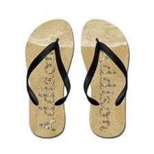 Addison Seashells Flip Flops