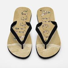 Aileen Seashells Flip Flops